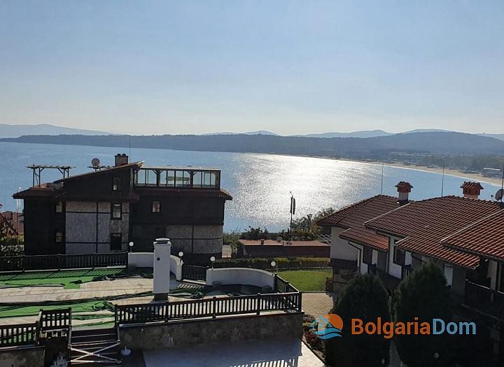 Двухкомнатный мезонет с видом на море, Созополь!. Фото 20