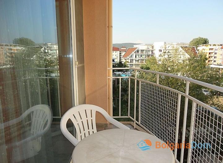 Двухкомнатная квартира в Солнечном Береге. Фото 12