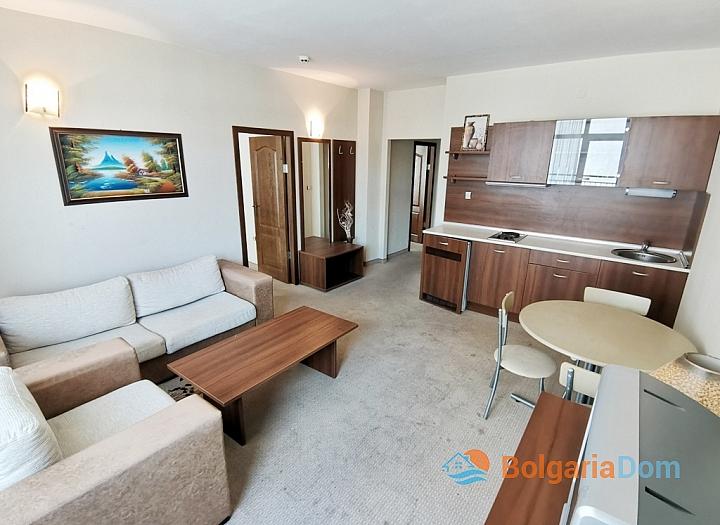 Апартамент с двумя спальнями на второй линии моря. Фото 11