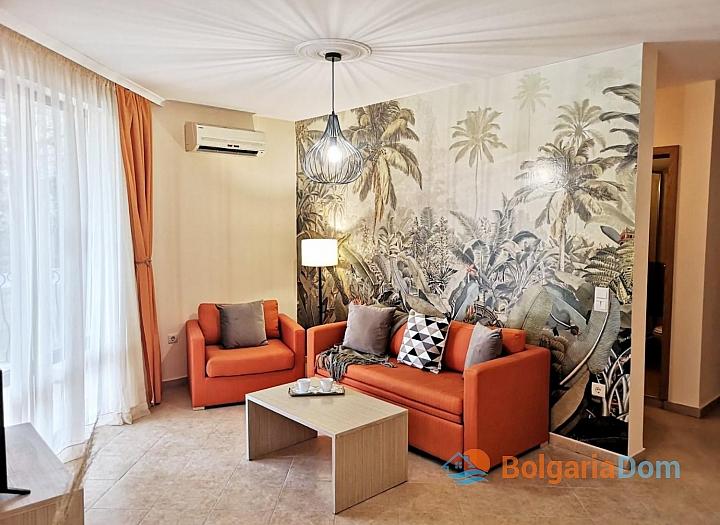 Двухкомнатная квартира в комплексе Роял Сан. Фото 1