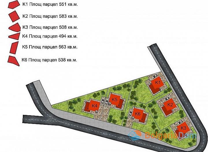 Новые дома в ближайшем пригороде Бургаса - Банево. Фото 3