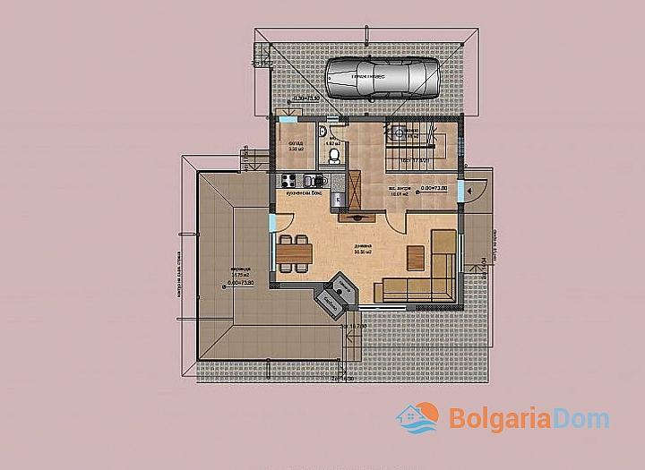 Новые дома в ближайшем пригороде Бургаса - Банево. Фото 4