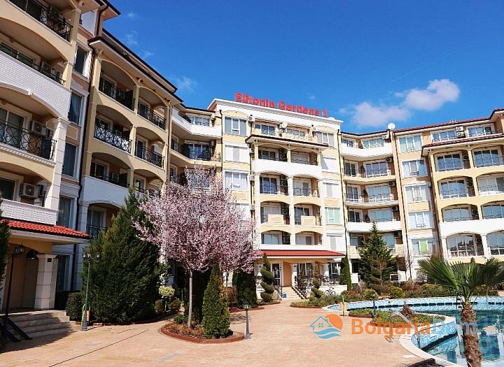 Двухкомнатная квартира в комплексе Элитония Гарденс. Фото 3