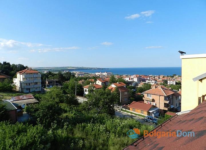 Прекрасная студия с видом на море в городе Обзор. Фото 5