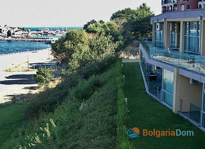 Квартира на первой линии моря в Несебре, Белведере. Фото 10