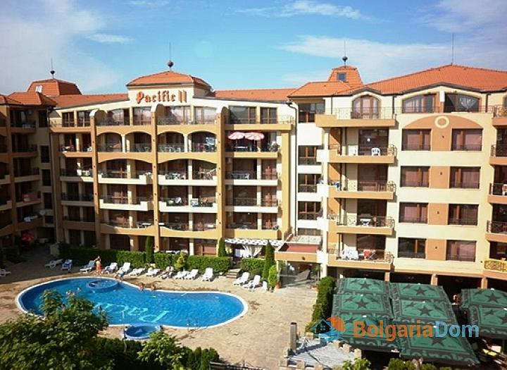 Двухкомнатная квартира в комплексе Пасифик 2 на курорте Солнечный берег. Фото 7