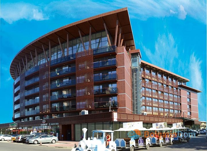 комплекс галеон - квартиры на первой линии море в Болгарии. Фото 1
