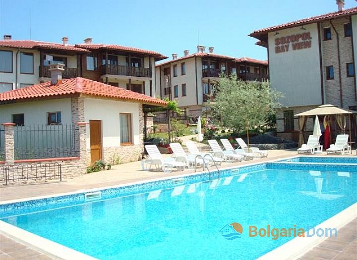 Недорогие апартаменты с видом на море в Созополе. Фото 1