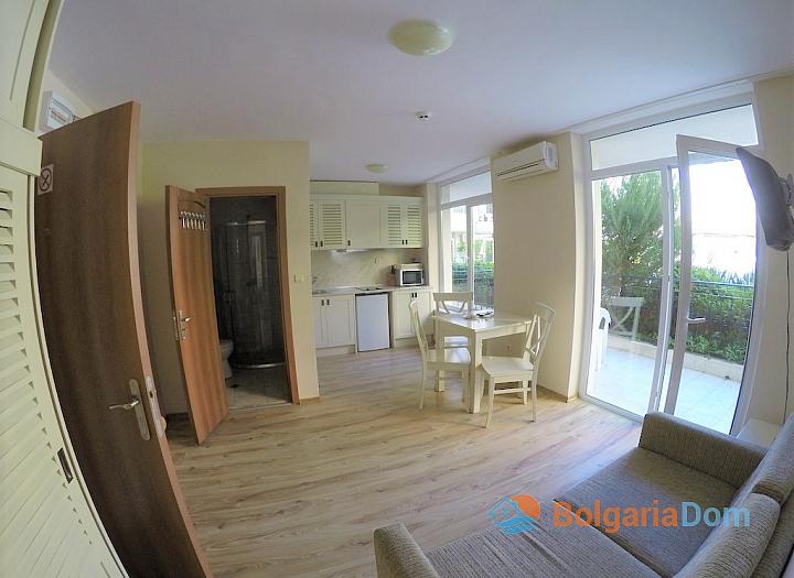 Красивая квартира с одной спальней в элитном жилом комплексе Даун Парк. Фото 2