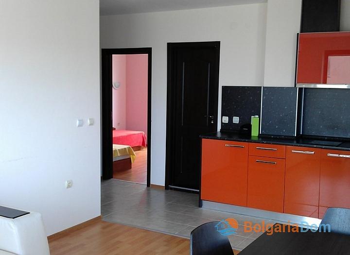 Квартира с одной спальней в курорте Бяла. Фото 10
