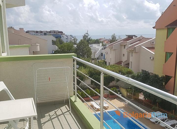 Двухкомнатная квартира с видом на море в Святом Власе. Фото 4