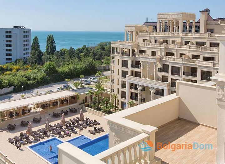Трехкомнатная квартира с видом на море в элитном комплексе . Фото 9