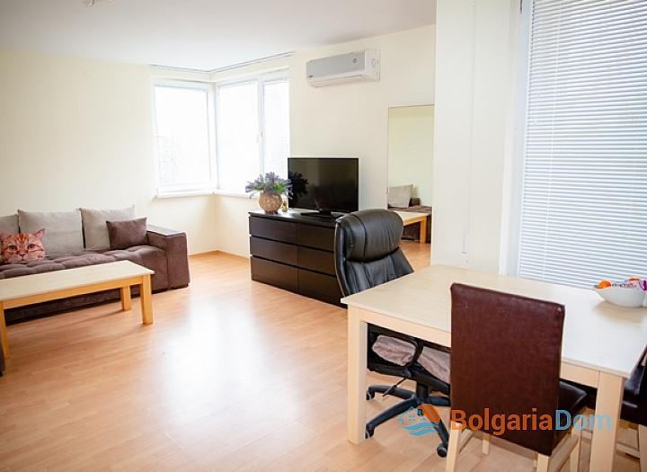 Двухкомнатная квартира в Несебр Форт Клуб. Фото 4
