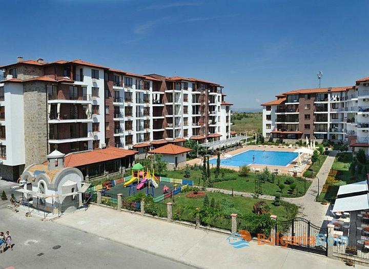Двухкомнатная квартира в Равде в комплексе. Фото 8