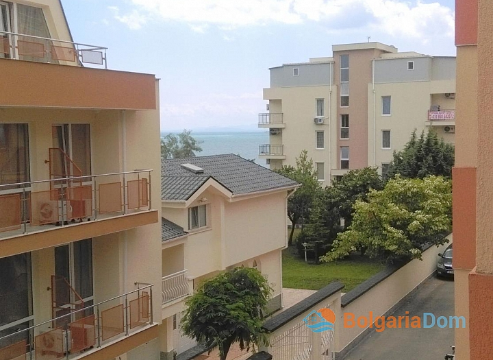 Двухкомнатная квартира на первой линии  с видом на море, низкая такса!. Фото 17