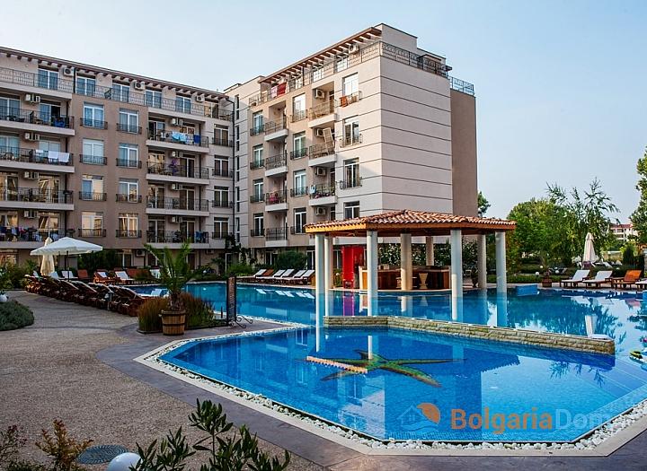 Трехкомнатная квартира в комплексе Даун Парк, Солнечный Берег. Фото 9