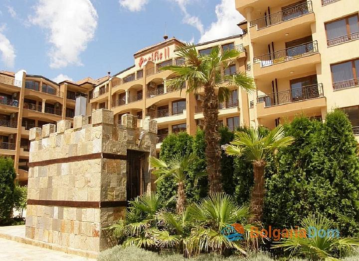 Двухкомнатная квартира в комплексе Пасифик 2 на курорте Солнечный берег. Фото 1