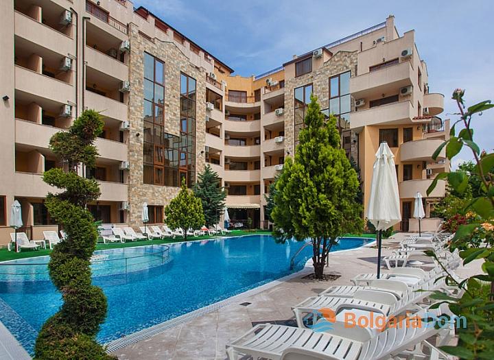 Недорогая квартира в курорте Солнечный Берег. Фото 27