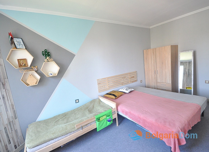 Современная квартира в 150 м от пляжа в Святом Власе. Фото 6