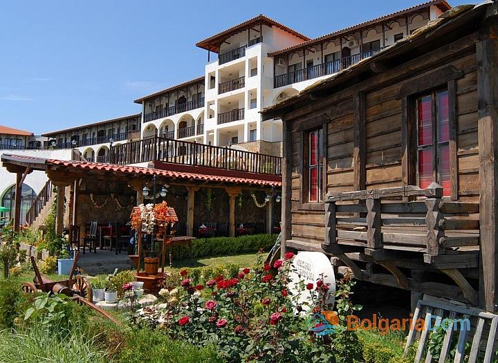 Отличная квартира у моря в курорте Святой Влас. Фото 15