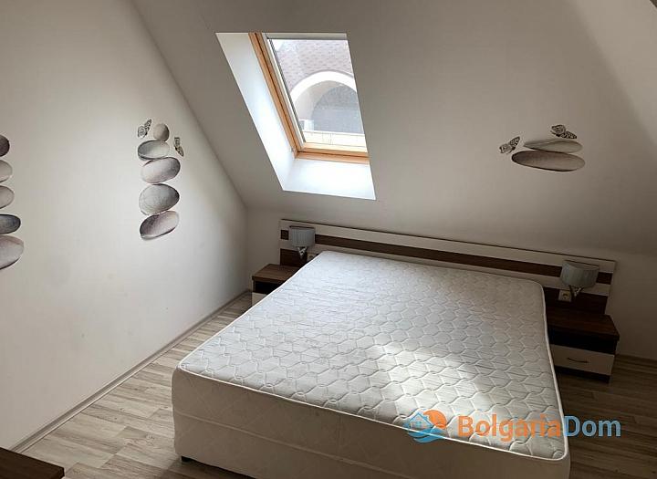 Двухкомнатная меблированная квартира с джакузи на Солнечном берегу. Фото 5