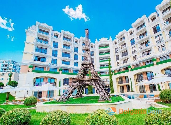Двухкомнатная квартира в комплексе Романс Париж, Святой Влас. Фото 1