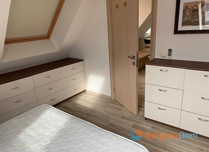 Двухкомнатная меблированная квартира с джакузи на Солнечном берегу. Фото 6