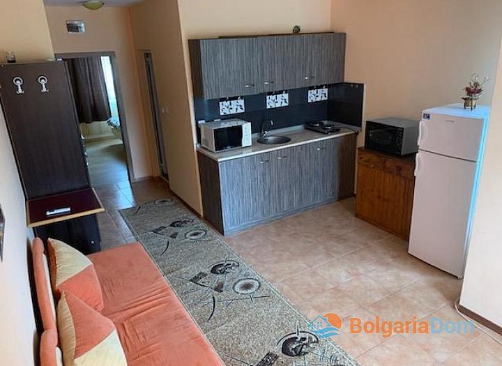 Двухкомнатная квартира в городе Несебр, Черное море. Фото 3