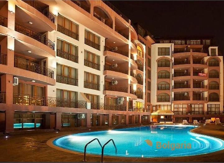 Двухкомнатная квартира в комплексе Пасифик 2 на курорте Солнечный берег. Фото 8