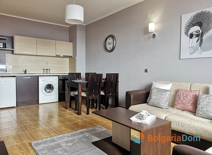 Продажа двухкомнатной квартиры в комплексе Меджик Дриймс с видом на море. Фото 2