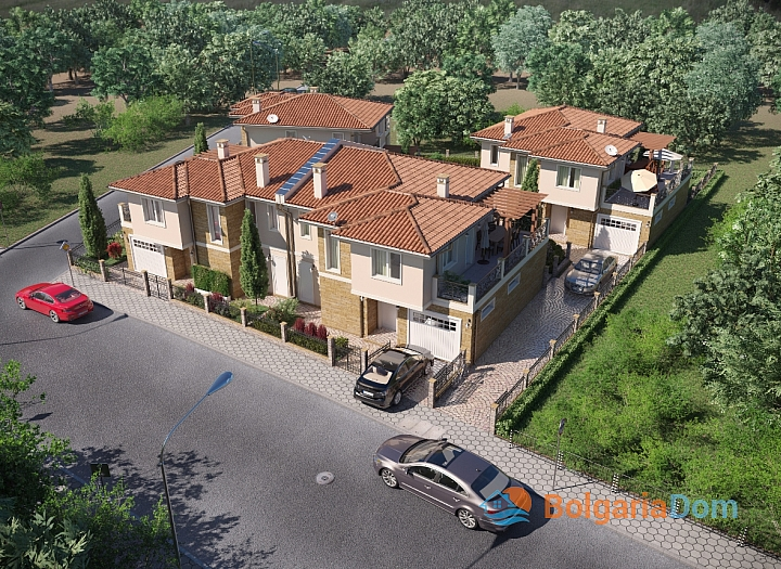 Новые дома на продажу в городе Поморие. Фото 13