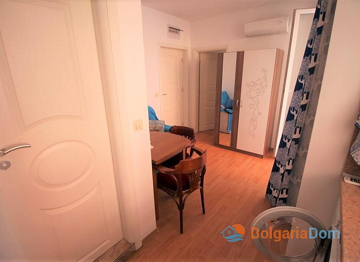 Двухкомнатная квартира в тихой части Солнечного Берега. Фото 8