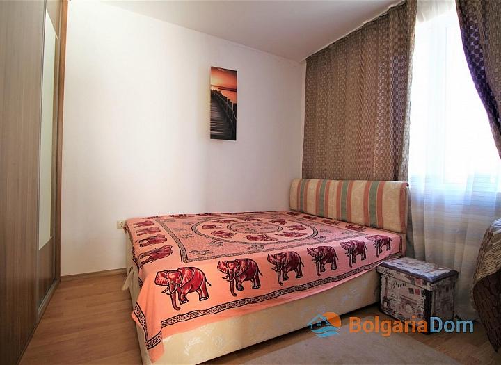 Двухкомнатная квартира на Солнечном Берегу в комплексе Афродита III. Фото 9