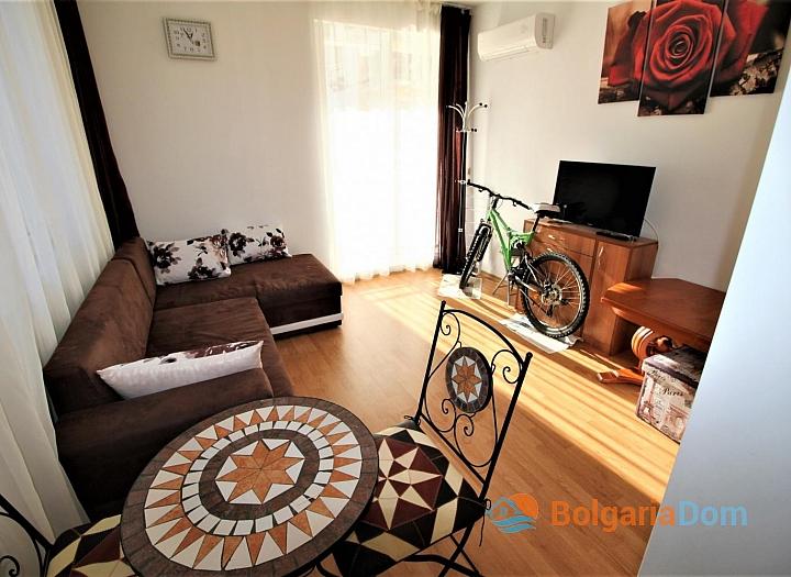 Двухкомнатная квартира на Солнечном Берегу в комплексе Афродита III. Фото 6