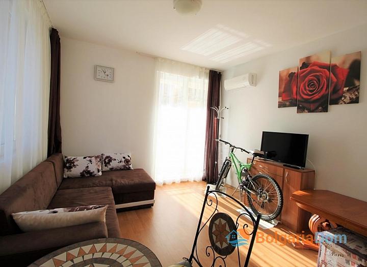 Двухкомнатная квартира на Солнечном Берегу в комплексе Афродита III. Фото 8