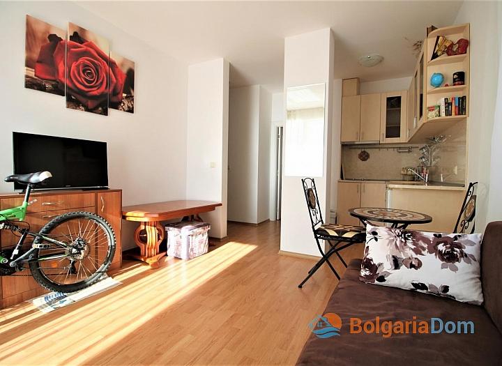 Двухкомнатная квартира на Солнечном Берегу в комплексе Афродита III. Фото 1