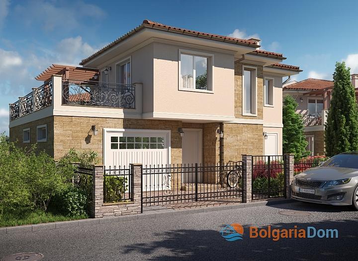 Новые дома на продажу в городе Поморие. Фото 7