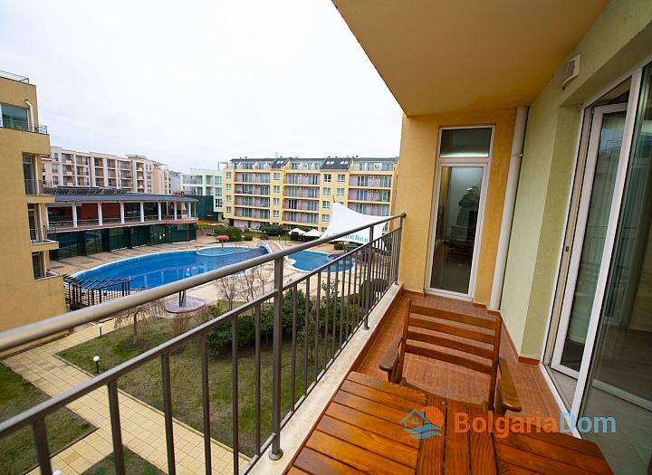 Просторная двухкомнатная квартира в Солнечном Береге. Фото 4