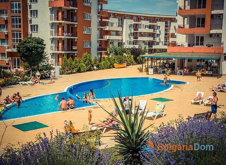 Двухкомнатная квартира с панорамным видом на море!. Фото 20