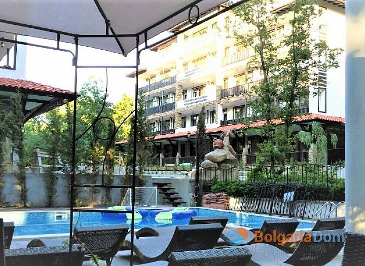Красивая двухкомнатная квартира в отличном комплексе Грин Парадайз. Фото 15