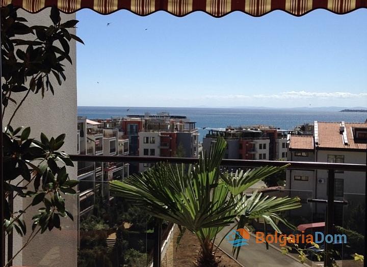 Большая квартира с панорамным видом на море в Святом Власе. Фото 13