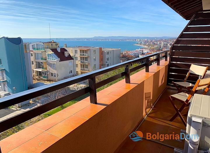 Двухкомнатная квартира в Святом Власе с видом на море. Фото 12