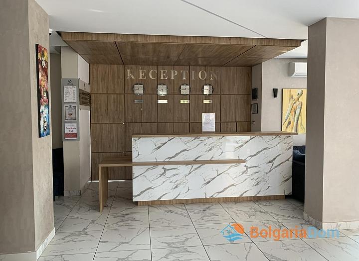 Просторная студия в комплексе Тарсис Клуб и СПА, Солнечный Берег. Фото 10