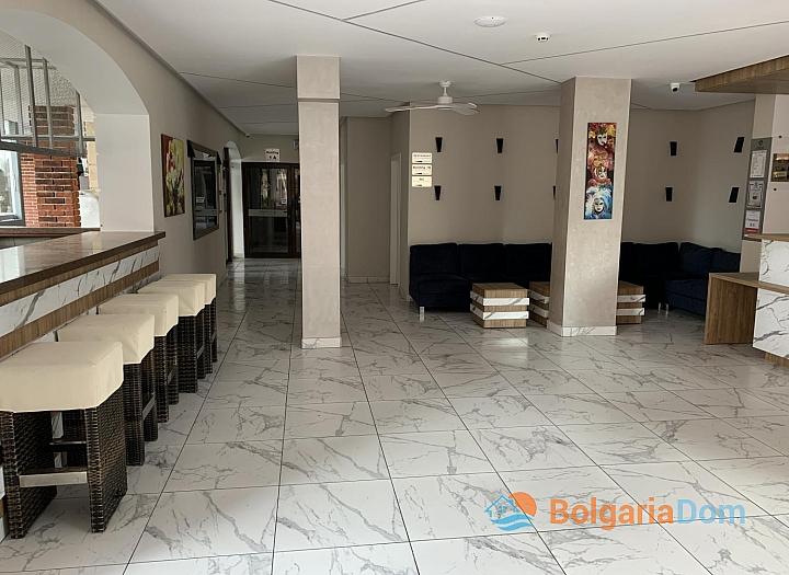 Просторная студия в комплексе Тарсис Клуб и СПА, Солнечный Берег. Фото 14