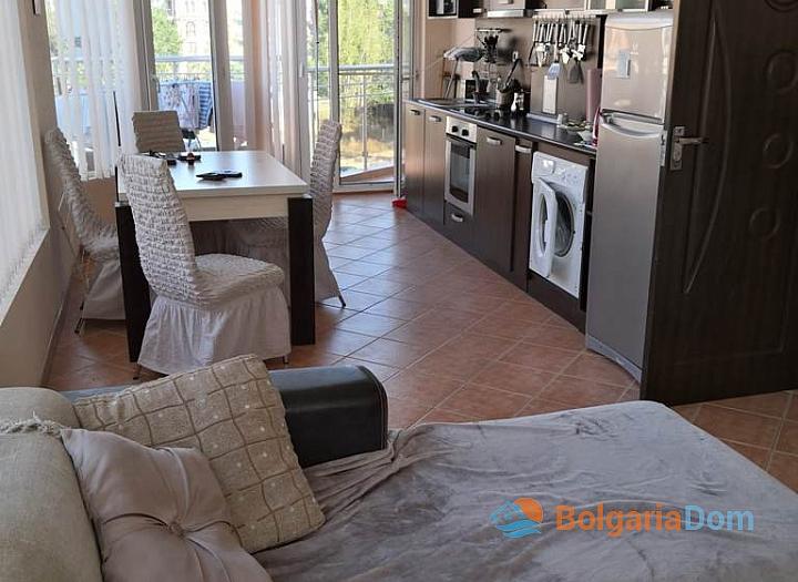 Меблированная трёхкомнатная квартира в комплексе Балкан Бриз 2. Фото 3