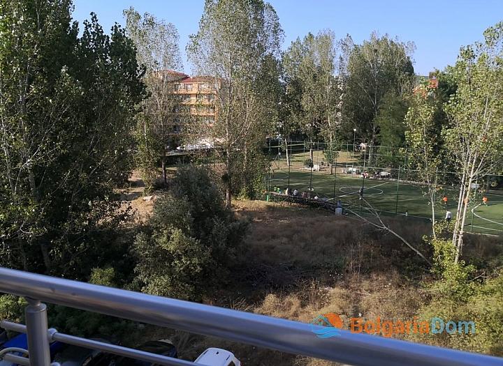 Меблированная трёхкомнатная квартира в комплексе Балкан Бриз 2. Фото 12