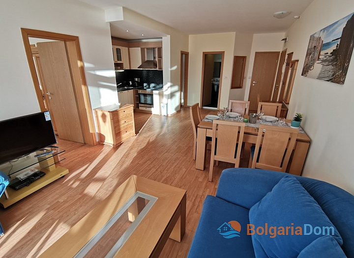 Прекрасная трёхкомнатная квартира в комплексе Райский Сад. Фото 6
