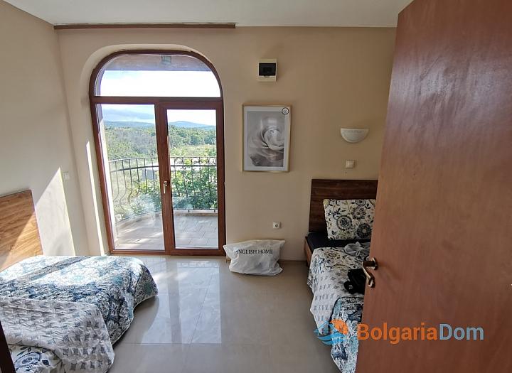 Двухуровневая квартира с видом на море в Созополе, Грин Хиллс. Фото 33