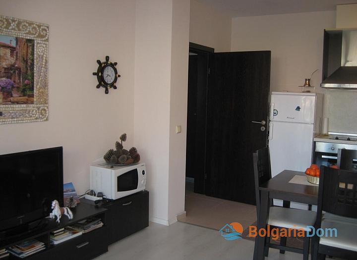 Двухкомнатная квартира в 50 м от пляжа в Созополе. Фото 8