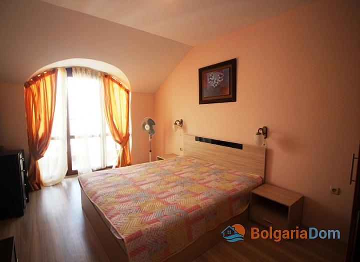 Двухкомнатная квартира в комплексе Пасифик 2 на курорте Солнечный берег. Фото 4